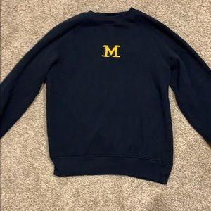 Michigan crewneck sweatshirt